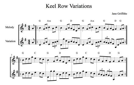 KeelRowVariations