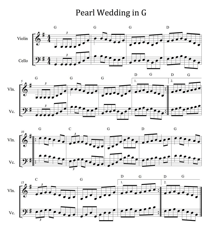 Pearl WeddinginG