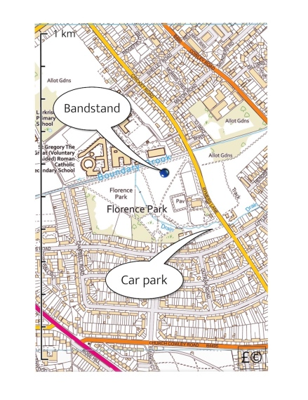 Florence Park map